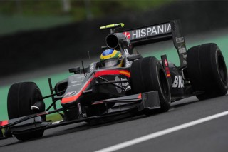 Bruno Senna (Hispania Racing Team, Brazil Nagydíj, 2010.11.06)