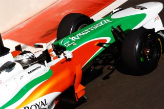 Adrian Sutil (Force India F1 Team, Abu-Dzabi teszt, 2010.11.19)