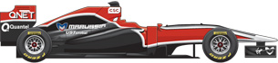Virgin Cosworth MVR-02