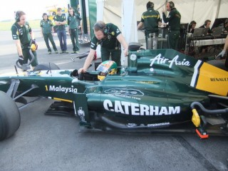 Karun Chandhok (Team Lotus, Kemble teszt, 2011.07.04)