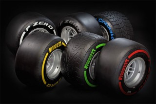 A Pirelli 2012-es gumiabroncsai (Abu Dhabi, 2012.01.25)