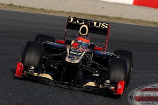 Romain Grosjean (Lotus F1 Team, Barcelona teszt, 2012.02.21)