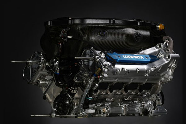Cosworth CA2010 motor (2012.10.13)