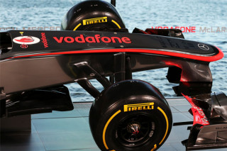 McLaren Mercedes MP4-28 orrkúp (McLaren, Woking, 2013.01.31)